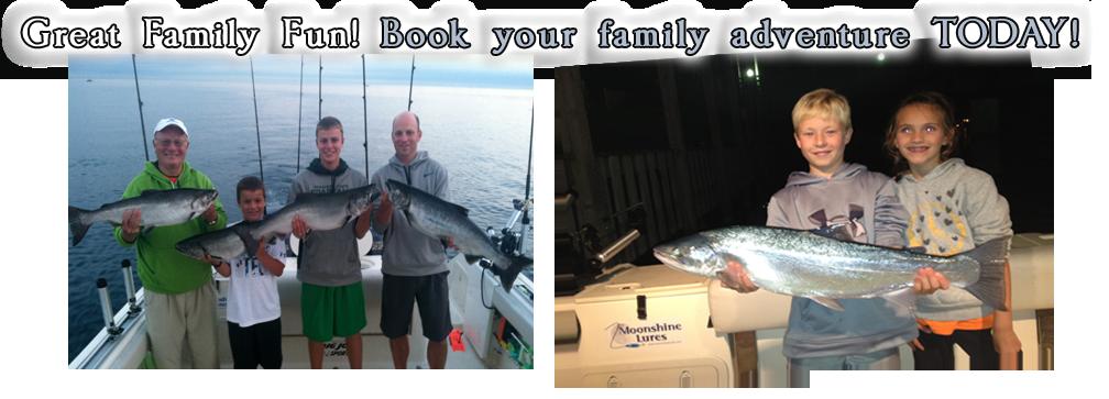 Diabolical sport fishing charters in mackinaw city for Michigan city fishing charters
